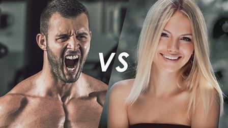 FEMININ vs. MASCULIN pe CHIPUL uman