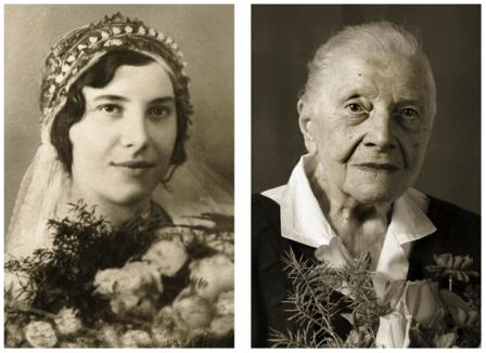 Transformarea chipului in 100 de ani