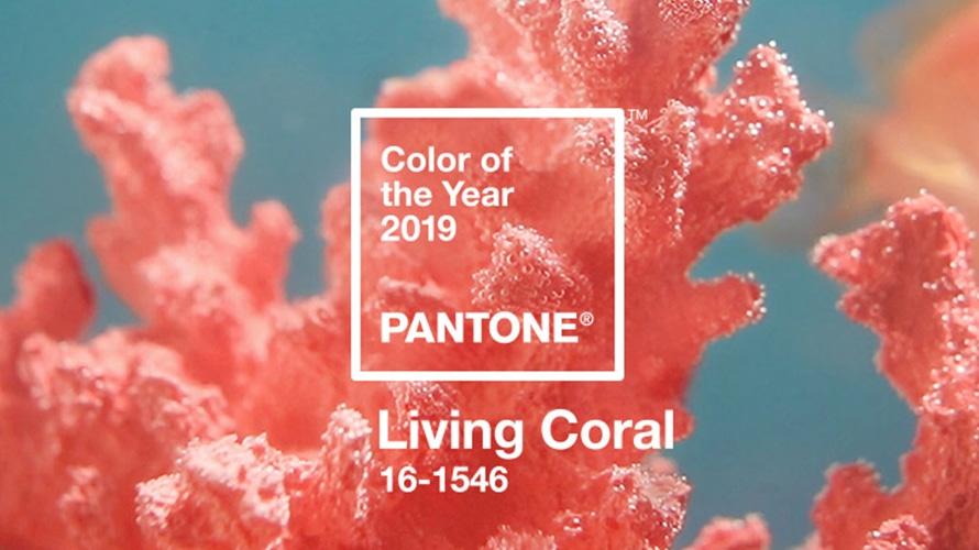Culoarea anului 2019 – Living Coral