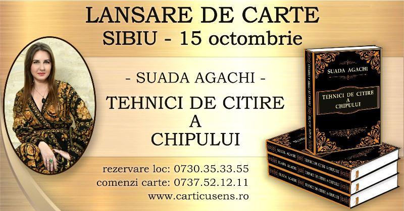 Sibiu – Lansare de carte – Tehnici de Citire a Chipului