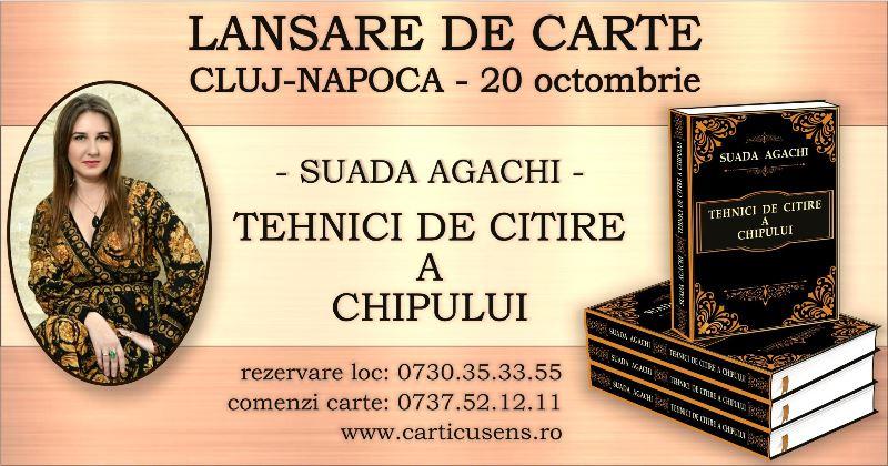 Cluj-Napoca – Lansare de carte – Tehnici de Citire a Chipului