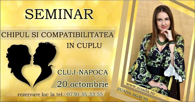 "Cluj-Napoca – Seminar ""Chipul si Compatibilitatea in Cuplu"""