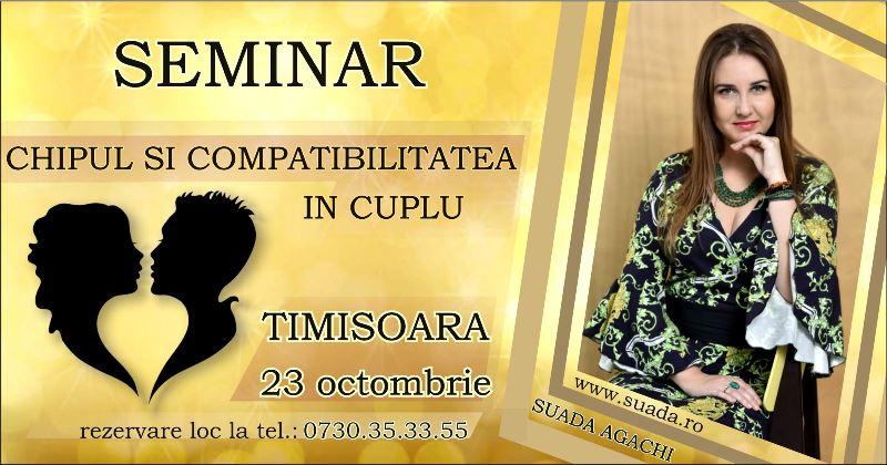 """Timisoara – Seminar """"Chipul si Compatibilitatea in Cuplu"""""""