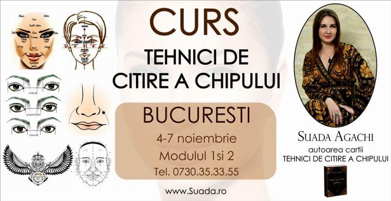 Bucuresti – Curs | Tehnici de Citire a Chipului. Modulul 1 si 2